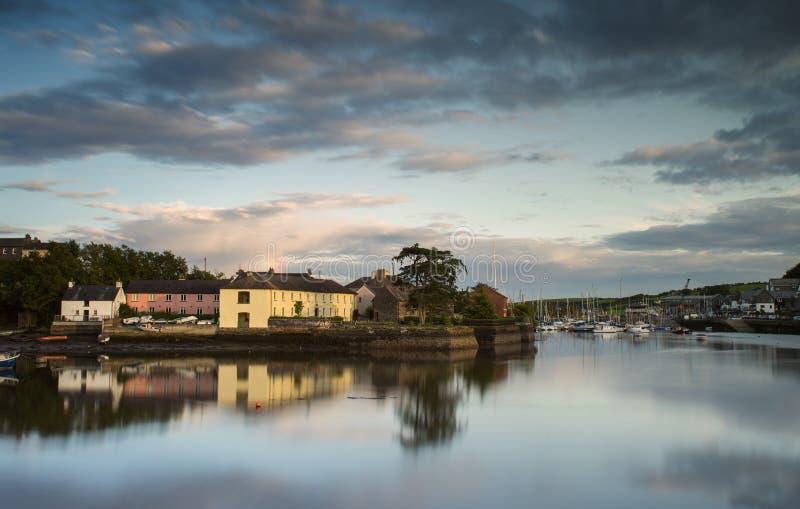 De Haven van Kinsale royalty-vrije stock afbeelding