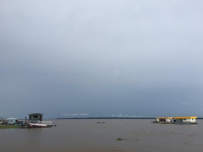 De haven van Manaus royalty-vrije stock afbeelding