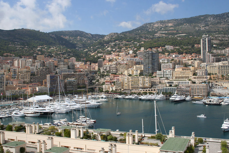 De Haven van Monaco royalty-vrije stock afbeeldingen