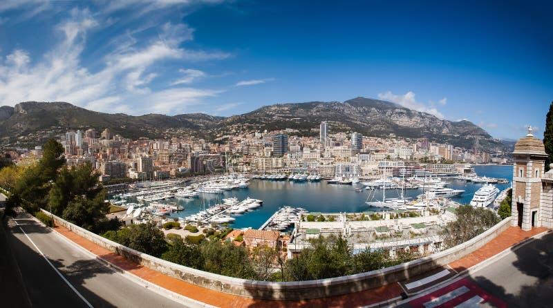 De Haven van Monaco stock foto