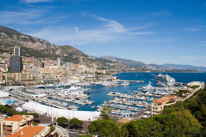 De Haven van Monaco royalty-vrije stock afbeelding