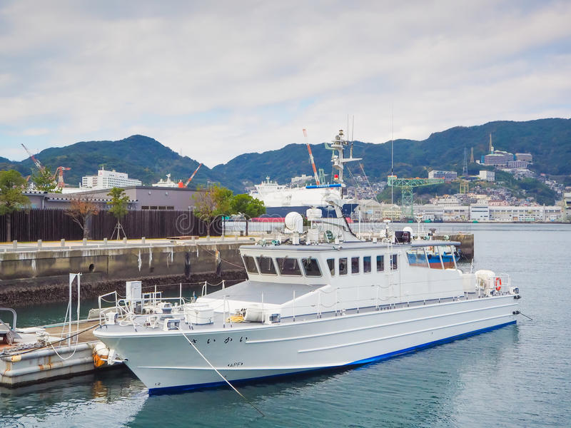 De haven van Nagasaki royalty-vrije stock foto