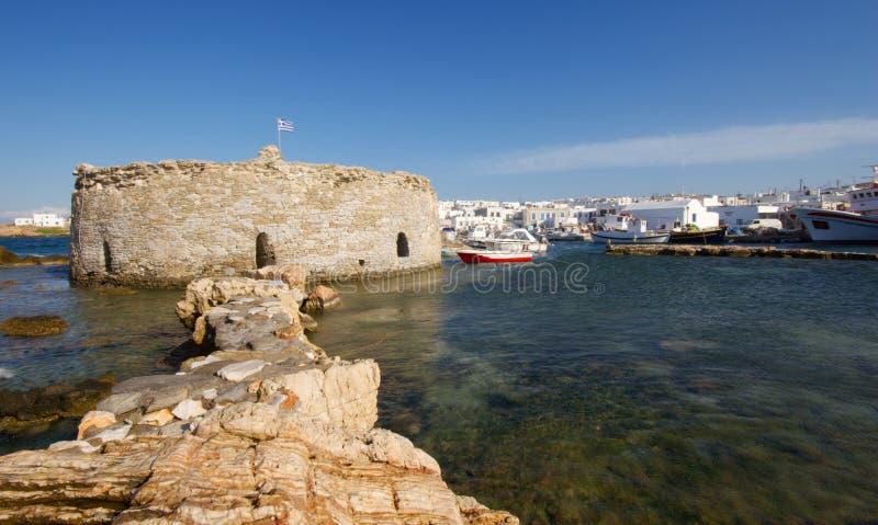 De Haven van Naoussa royalty-vrije stock fotografie