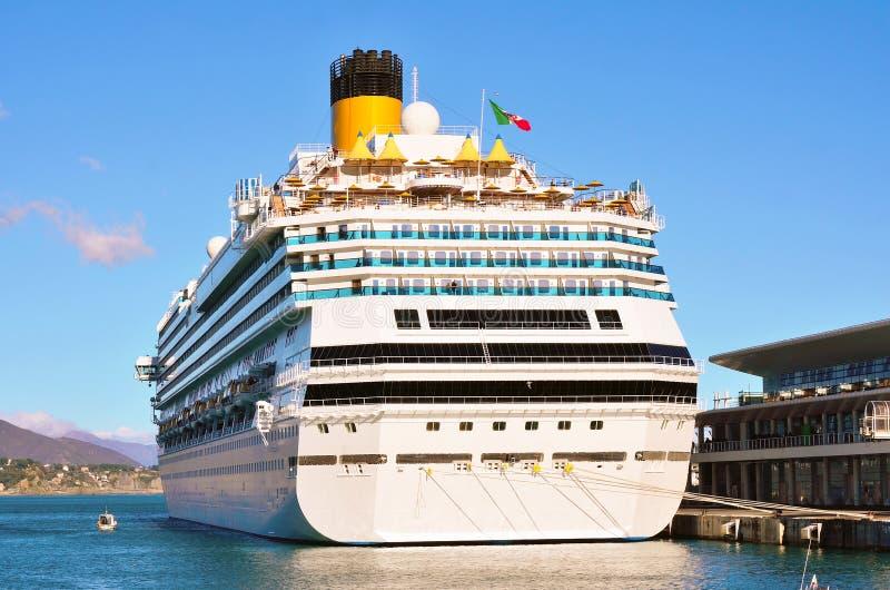 De haven van Savona, Italië royalty-vrije stock fotografie