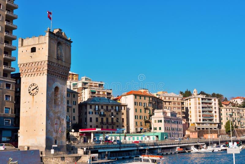 De haven van Savona Italië stock foto's