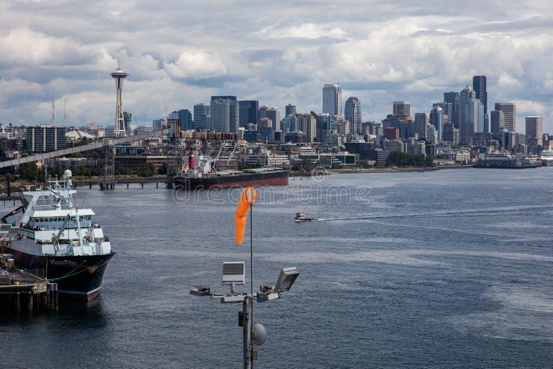 De haven van Seattle royalty-vrije stock foto's