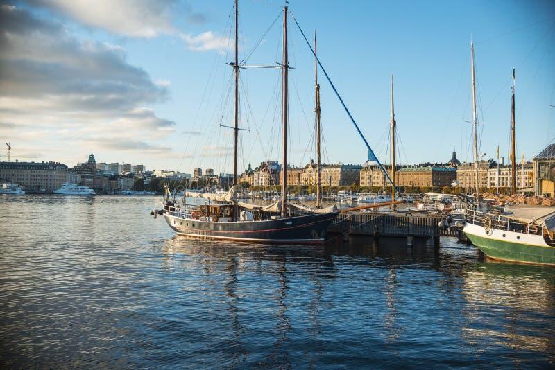 De Haven van Stockholm stock afbeelding