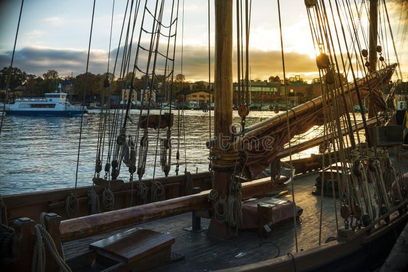 De Haven van Stockholm royalty-vrije stock afbeeldingen
