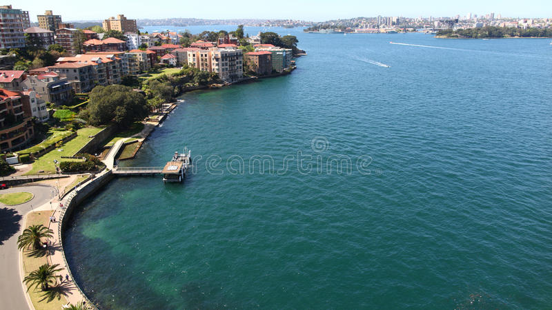 De haven van Sydney stock fotografie