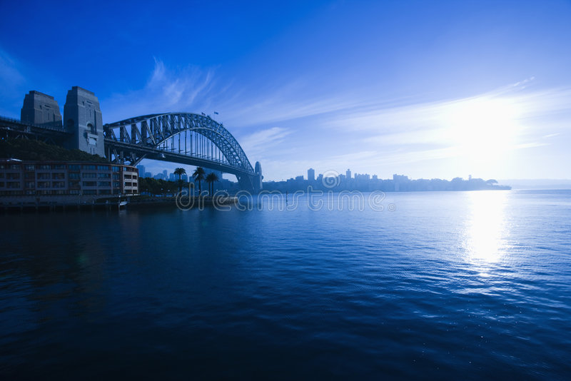 De Haven van Sydney, Australië. royalty-vrije stock foto