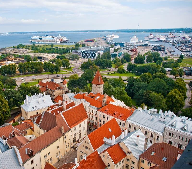 De haven van Tallinn royalty-vrije stock afbeeldingen