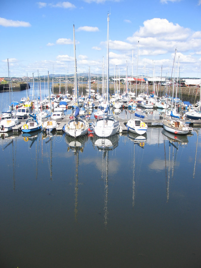 De haven van Tayport, Fife, royalty-vrije stock foto