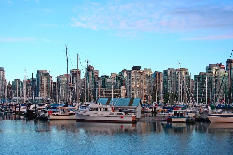 De haven van Vancouver. royalty-vrije stock afbeelding