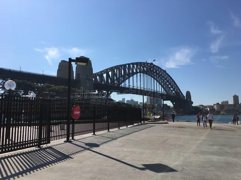 De havenbrug royalty-vrije stock foto