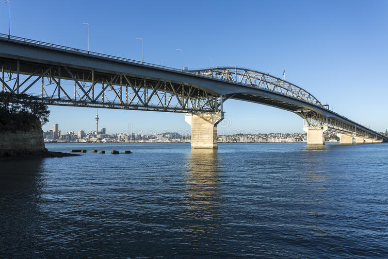 De Havenbrug van Auckland royalty-vrije stock foto's