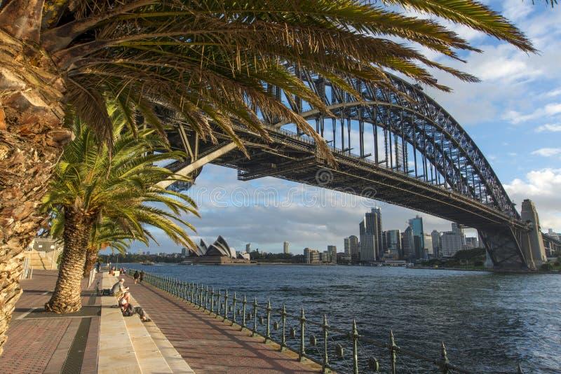 De havenbrug van Sydney royalty-vrije stock afbeelding