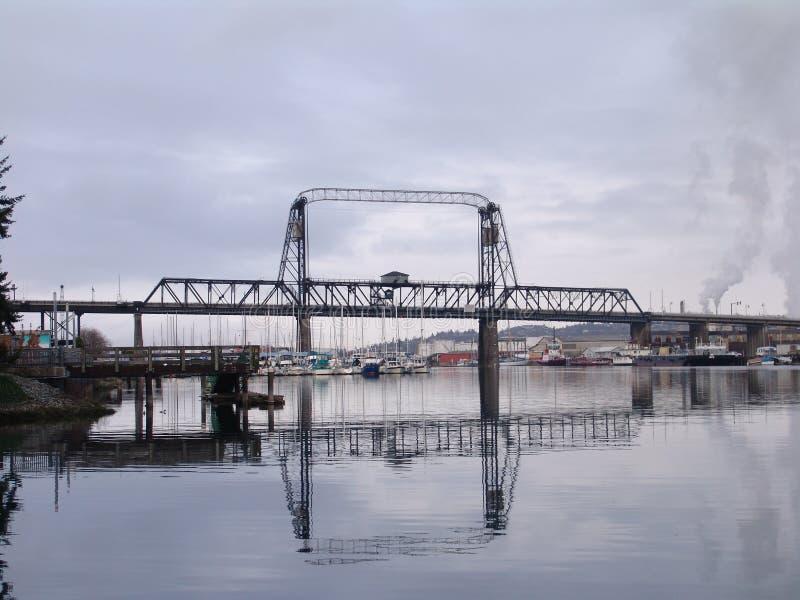 De Havenbrug van Tacoma royalty-vrije stock foto's