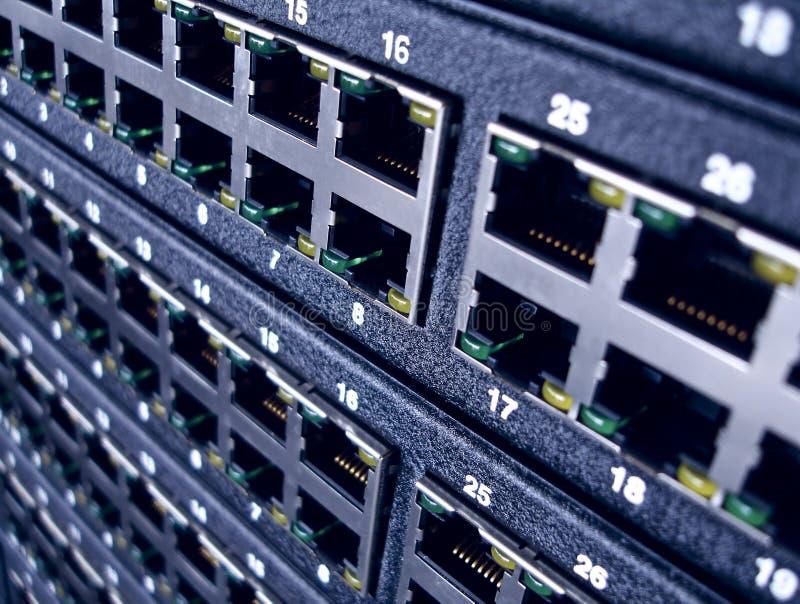 De Havens van het netwerk royalty-vrije stock foto