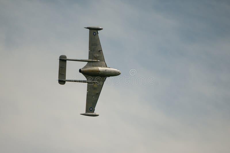 De Havilland-Vergift straalvechter royalty-vrije stock fotografie
