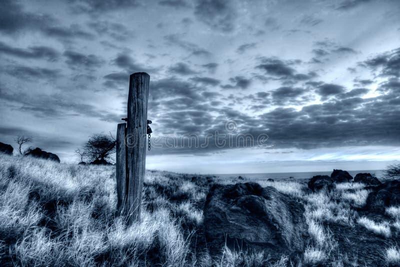 De Hawaiiaanse zonsondergang royalty-vrije stock foto's