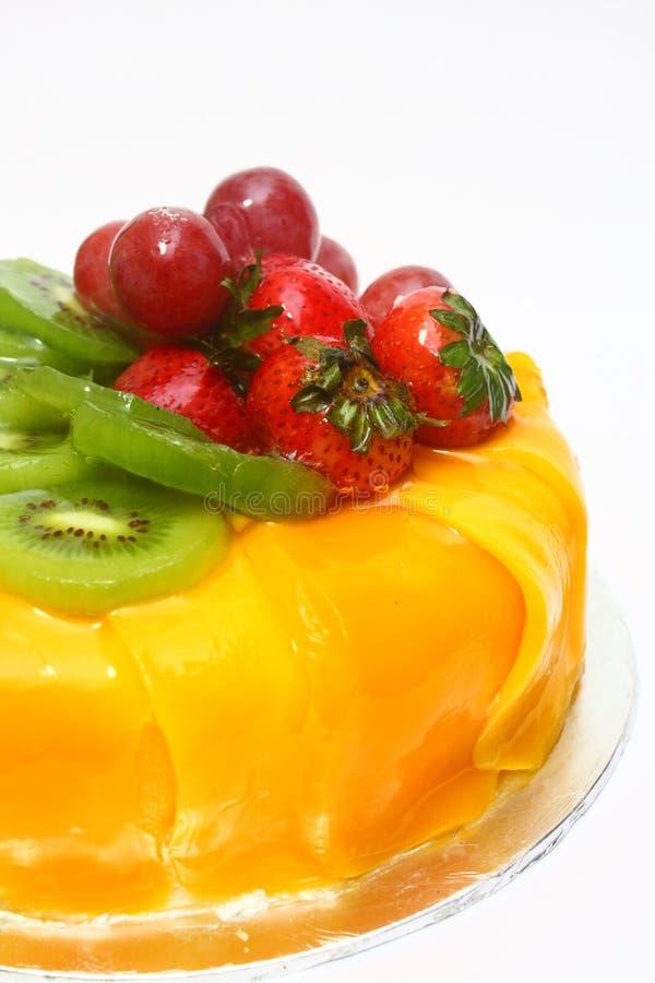 De heerlijke Cake van het Fruit royalty-vrije stock foto's