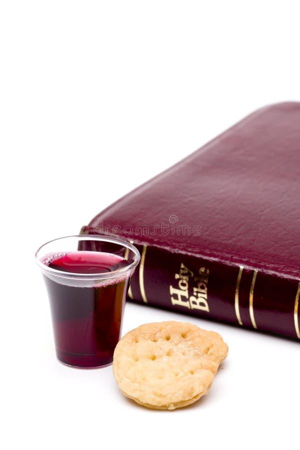 De Heilige Communie stock foto's
