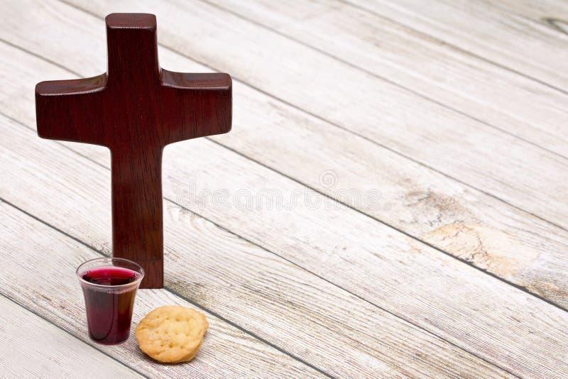 De Heilige Communie stock afbeeldingen