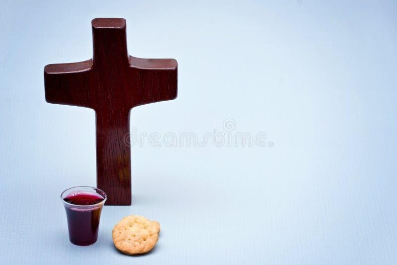 De Heilige Communie royalty-vrije stock foto