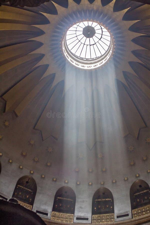 De Heilige Grafgewelfkerk in Jeruzalem royalty-vrije stock afbeelding
