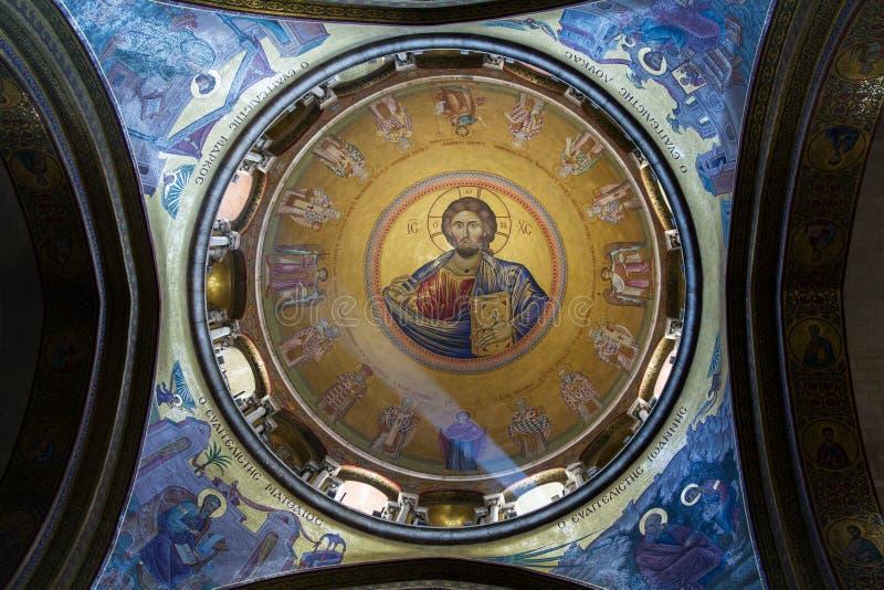 De Heilige Grafgewelfkerk in Jeruzalem royalty-vrije stock fotografie