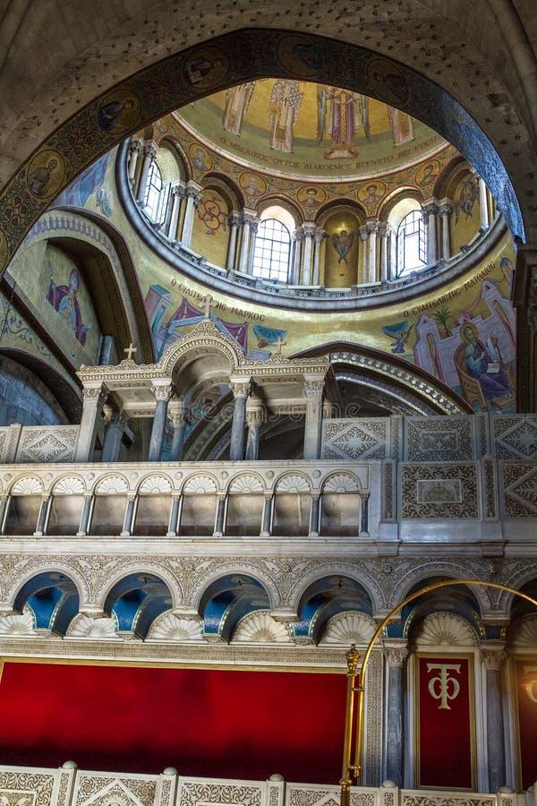 De Heilige Grafgewelfkerk in Jeruzalem royalty-vrije stock foto