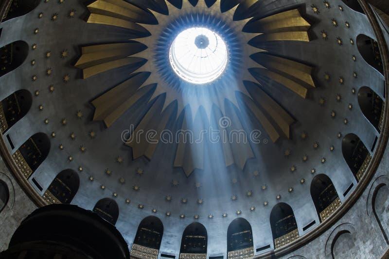 De Heilige Grafgewelfkerk in Jeruzalem royalty-vrije stock afbeeldingen