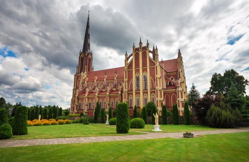 De heilige Katholieke Kerk van de Drievuldigheid stock foto