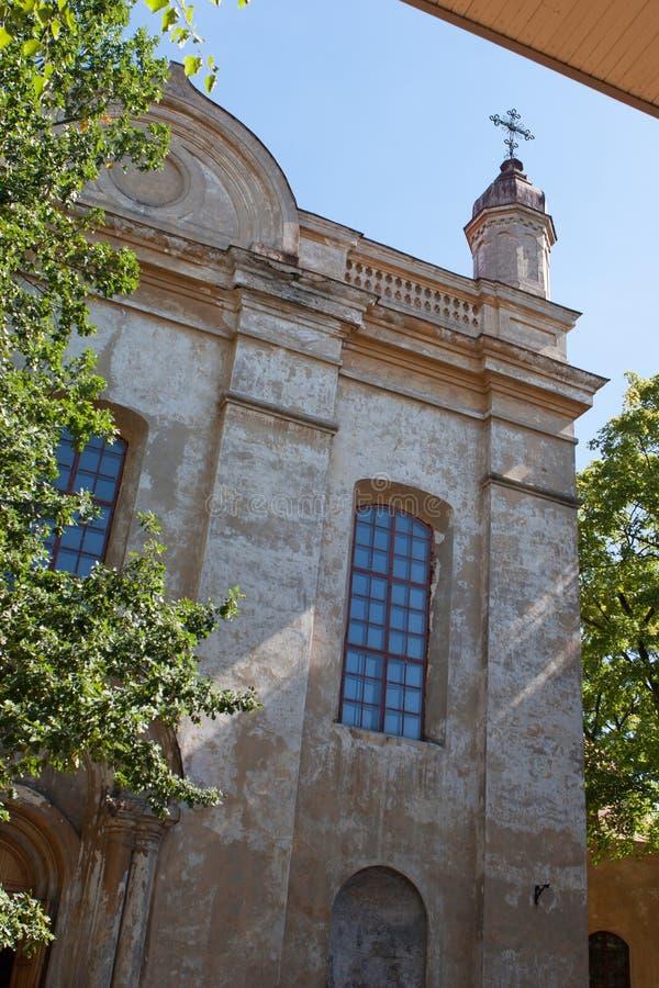 De heilige Kerk van de Drievuldigheid stock foto's