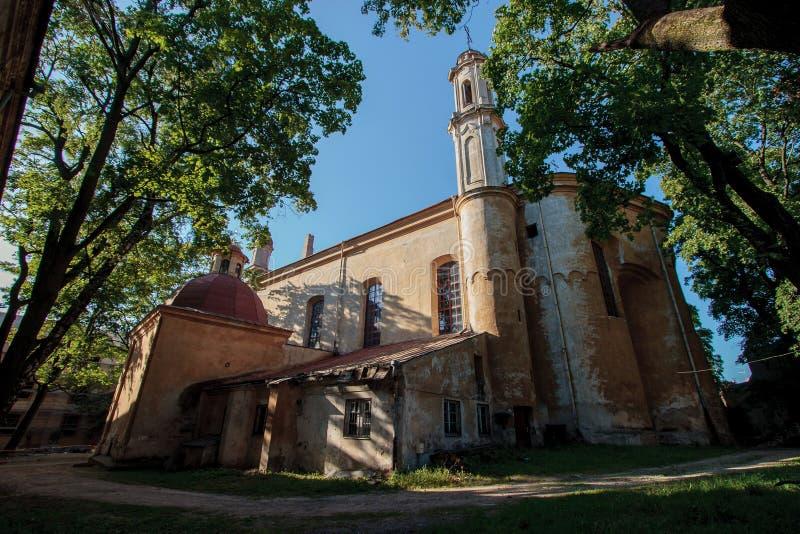De heilige Kerk van de Drievuldigheid royalty-vrije stock foto