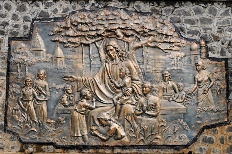 De heilige Kerk van het Hart royalty-vrije stock afbeeldingen