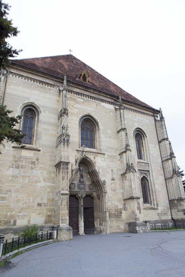 De Heilige Michaels Church in Cluj Napoca stock foto's