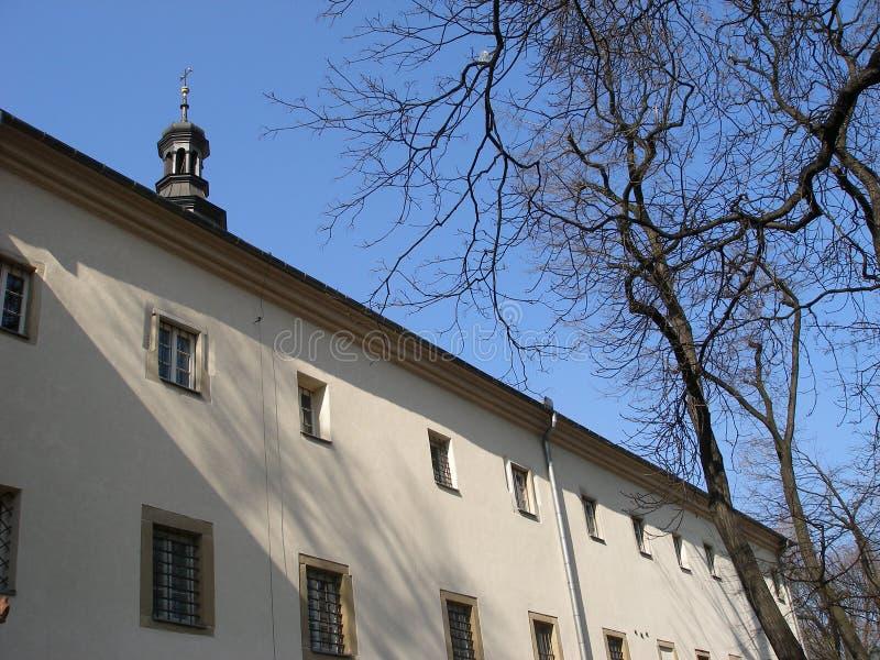De heiligste Ongehuwde kerk van Maria van de vrouwensneeuw stock afbeelding