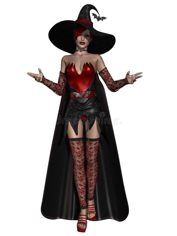 De Heks van Halloween vector illustratie