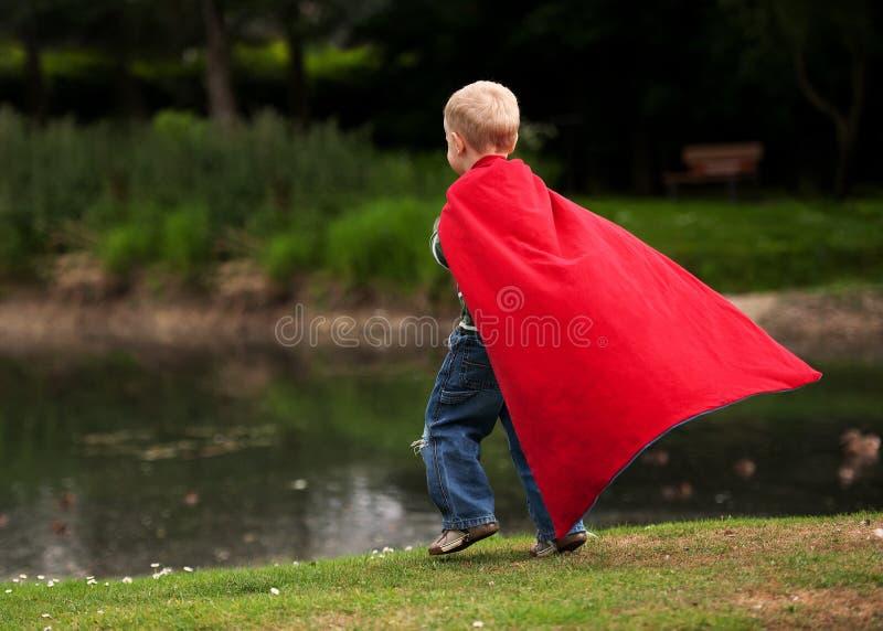 De Held van het kind royalty-vrije stock afbeeldingen