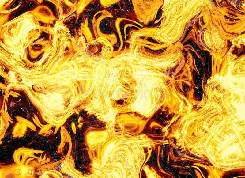 De heldere achtergronden van de de explosieflits van de branduitbarsting stock illustratie