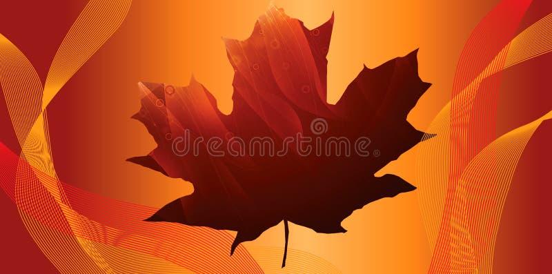 De heldere herfst royalty-vrije stock afbeeldingen