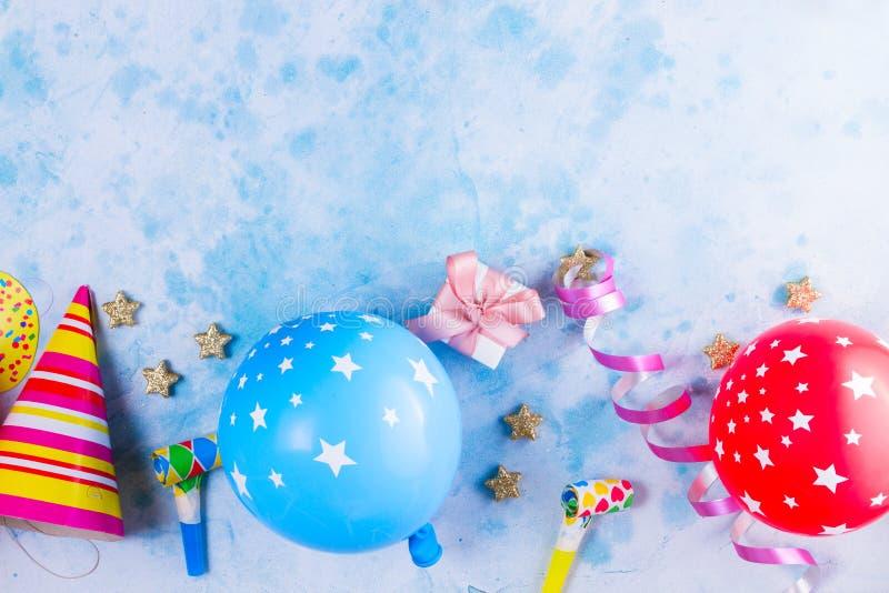 De heldere kleurrijke scène van Carnaval of van de partij stock fotografie
