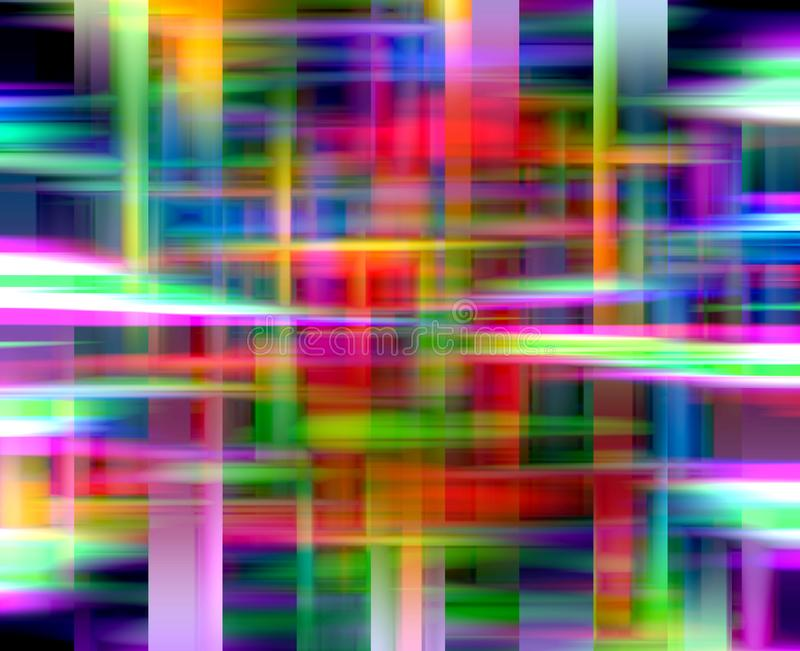 De heldere pastelkleur kruist achtergrond, kleuren, meetkunde, heldere achtergrond, kleurrijke meetkunde vector illustratie