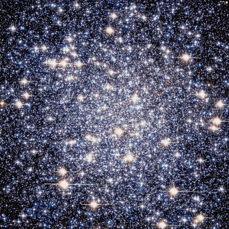 De heldere Sterrige Nevel van de Nachtcluster verbeterde de Elementen van het Heelalbeeld van NASA/ESO | Melkweg Achtergrondbehan royalty-vrije stock foto