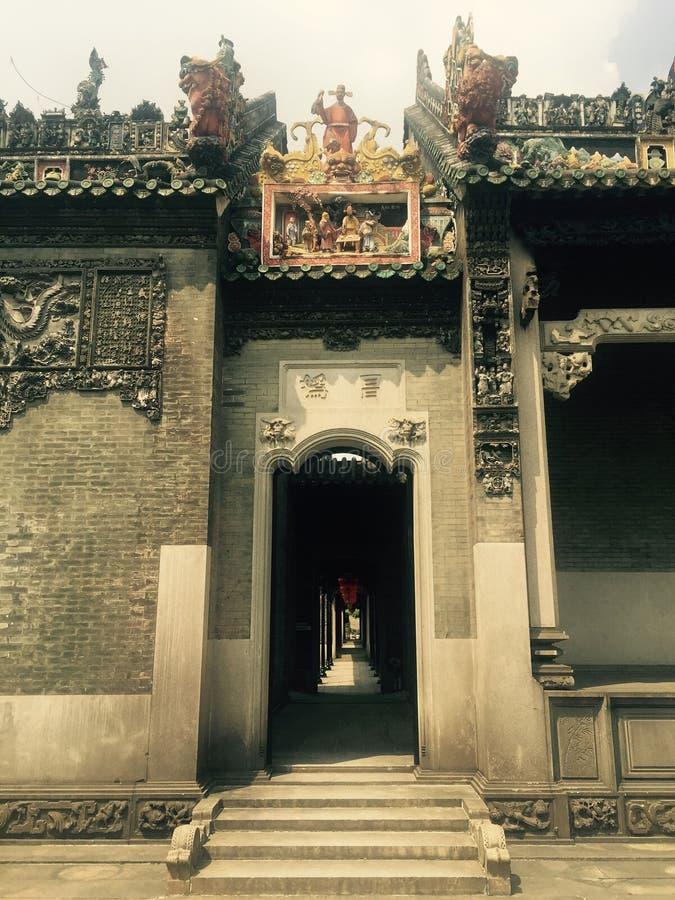 De heldere zaal van volks decoratief art. royalty-vrije stock afbeeldingen