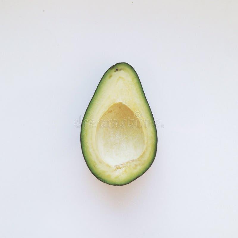 De helft van avocado royalty-vrije stock foto's