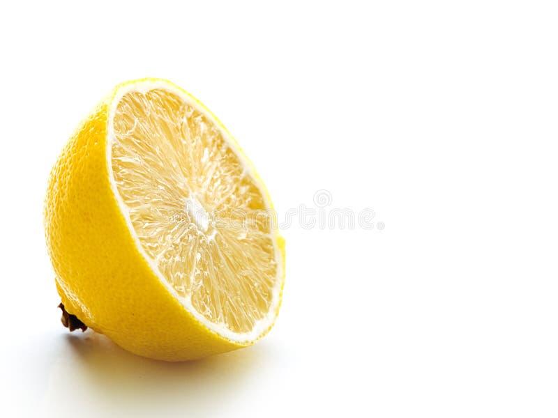 De helft van citroen stock fotografie