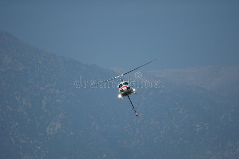 De Helikopter van de brandredding royalty-vrije stock afbeeldingen