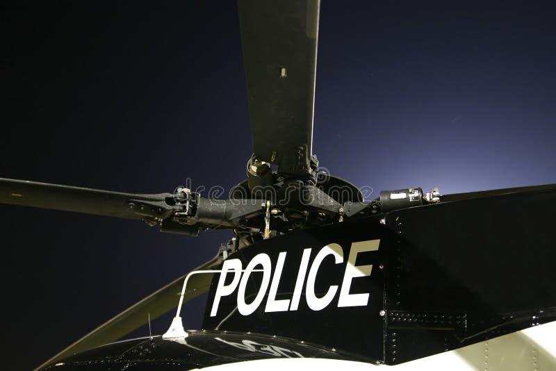 De Helikopter van de politie stock afbeelding